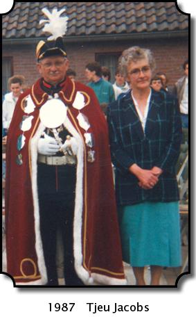 1987 Tjeu Jacobs